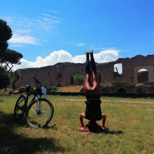 Rome Bike and Yoga Tour
